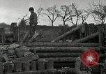 Image of Advancing U.S. forces destroy enemy roadblock Oberleuken Germany, 1945, second 16 stock footage video 65675074268