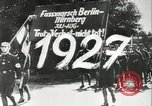 Image of Adolf Hitler at 1927 Nazi party rally Nuremberg Germany, 1927, second 5 stock footage video 65675074292