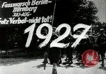 Image of Adolf Hitler at 1927 Nazi party rally Nuremberg Germany, 1927, second 6 stock footage video 65675074292