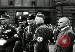Image of Adolf Hitler at 1927 Nazi party rally Nuremberg Germany, 1927, second 8 stock footage video 65675074292