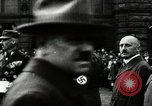 Image of Adolf Hitler at 1927 Nazi party rally Nuremberg Germany, 1927, second 9 stock footage video 65675074292