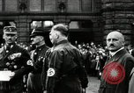 Image of Adolf Hitler at 1927 Nazi party rally Nuremberg Germany, 1927, second 10 stock footage video 65675074292