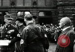 Image of Adolf Hitler at 1927 Nazi party rally Nuremberg Germany, 1927, second 11 stock footage video 65675074292