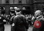 Image of Adolf Hitler at 1927 Nazi party rally Nuremberg Germany, 1927, second 12 stock footage video 65675074292