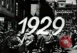 Image of members of Nazi party Nuremberg Germany, 1929, second 2 stock footage video 65675074293