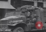 Image of Negro truck drivers European Theater, 1946, second 6 stock footage video 65675074296