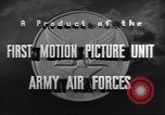 Image of 332nd Fighter Group P-47s in combat Italy, 1944, second 17 stock footage video 65675074301