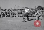 Image of baseball game India, 1943, second 9 stock footage video 65675074313