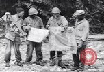 Image of Negro soldiers Bougainville Island Papua New Guinea, 1944, second 5 stock footage video 65675074319