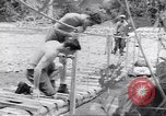 Image of Negro soldiers Bougainville Island Papua New Guinea, 1944, second 4 stock footage video 65675074321