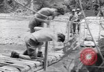 Image of Negro soldiers Bougainville Island Papua New Guinea, 1944, second 6 stock footage video 65675074321