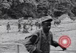 Image of Negro soldiers Bougainville Island Papua New Guinea, 1944, second 6 stock footage video 65675074322