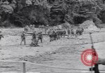 Image of Negro soldiers Bougainville Island Papua New Guinea, 1944, second 8 stock footage video 65675074322