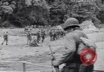 Image of Negro soldiers Bougainville Island Papua New Guinea, 1944, second 9 stock footage video 65675074322