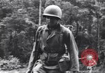 Image of Negro soldiers Bougainville Island Papua New Guinea, 1944, second 4 stock footage video 65675074323