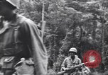 Image of Negro soldiers Bougainville Island Papua New Guinea, 1944, second 5 stock footage video 65675074323