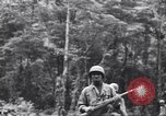Image of Negro soldiers Bougainville Island Papua New Guinea, 1944, second 7 stock footage video 65675074323