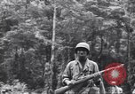 Image of Negro soldiers Bougainville Island Papua New Guinea, 1944, second 8 stock footage video 65675074323