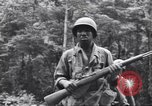 Image of Negro soldiers Bougainville Island Papua New Guinea, 1944, second 10 stock footage video 65675074323