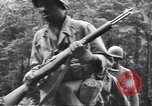 Image of Negro soldiers Bougainville Island Papua New Guinea, 1944, second 11 stock footage video 65675074323