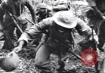 Image of Negro soldiers Bougainville Island Papua New Guinea, 1944, second 7 stock footage video 65675074324