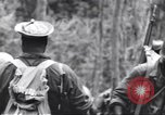 Image of Negro soldiers Bougainville Island Papua New Guinea, 1944, second 4 stock footage video 65675074326