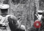 Image of Negro soldiers Bougainville Island Papua New Guinea, 1944, second 5 stock footage video 65675074326