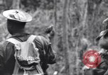 Image of Negro soldiers Bougainville Island Papua New Guinea, 1944, second 6 stock footage video 65675074326