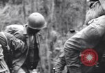 Image of Negro soldiers Bougainville Island Papua New Guinea, 1944, second 10 stock footage video 65675074326
