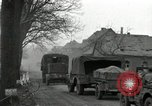 Image of U.S. troops roll into Germany in World War II Altenkirchen Germany, 1945, second 9 stock footage video 65675074327