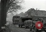 Image of U.S. troops roll into Germany in World War II Altenkirchen Germany, 1945, second 10 stock footage video 65675074327