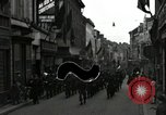 Image of 82nd Armored Reconnaissance Battalion parades in East Belgium Hasselt Belgium, 1945, second 11 stock footage video 65675074329