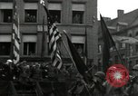 Image of Troops of US 2nd Armored Division parade in Belgian town Hasselt Belgium, 1945, second 10 stock footage video 65675074330