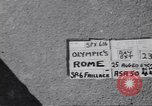 Image of United States athletes Rome Italy, 1960, second 4 stock footage video 65675074338
