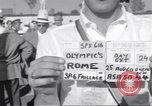 Image of athletes of different countries Rome Italy, 1960, second 2 stock footage video 65675074341