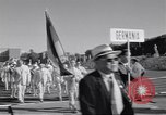 Image of athletes of different countries Rome Italy, 1960, second 5 stock footage video 65675074341