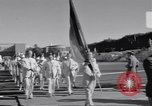 Image of athletes of different countries Rome Italy, 1960, second 6 stock footage video 65675074341