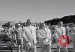 Image of athletes of different countries Rome Italy, 1960, second 9 stock footage video 65675074341
