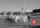 Image of athletes of different countries Rome Italy, 1960, second 12 stock footage video 65675074341