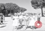 Image of people Rome Italy, 1960, second 10 stock footage video 65675074343