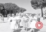 Image of people Rome Italy, 1960, second 11 stock footage video 65675074343