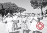 Image of people Rome Italy, 1960, second 12 stock footage video 65675074343