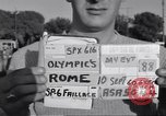 Image of statues of Foro Italica Stadium Rome Italy, 1960, second 2 stock footage video 65675074344