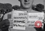 Image of statues of Foro Italica Stadium Rome Italy, 1960, second 3 stock footage video 65675074344