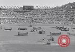 Image of crowded stadium Rome Italy, 1960, second 4 stock footage video 65675074347