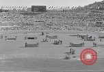 Image of crowded stadium Rome Italy, 1960, second 7 stock footage video 65675074347