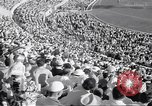 Image of crowded stadium Rome Italy, 1960, second 7 stock footage video 65675074348
