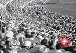 Image of crowded stadium Rome Italy, 1960, second 8 stock footage video 65675074348