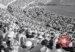 Image of crowded stadium Rome Italy, 1960, second 10 stock footage video 65675074348
