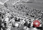 Image of crowded stadium Rome Italy, 1960, second 11 stock footage video 65675074348
